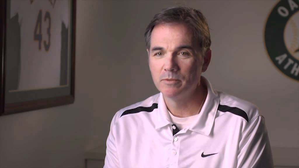 Oakland A's General Manager and sports analytics pioneer, Billy Beane.