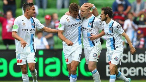 Melbourne City FC (above) are  just one of The Sports Office's clients in the Australasian high-performance sports sector.