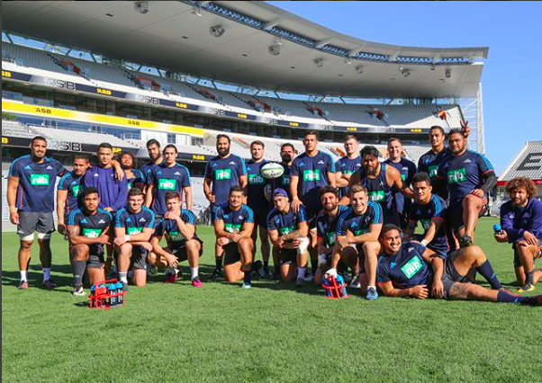 image of high performance NRL rugby team The Blues