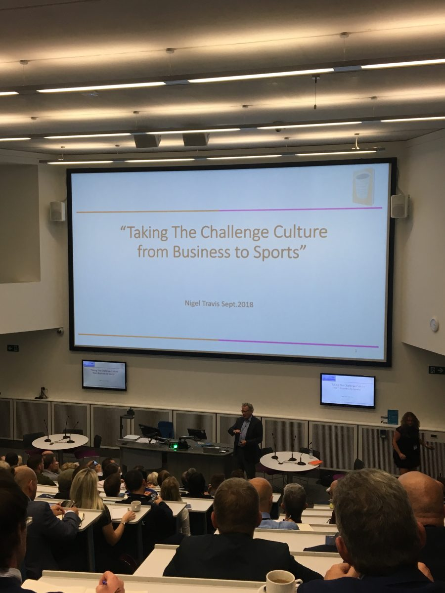 elite sport management conference on challenge culture and sporting director