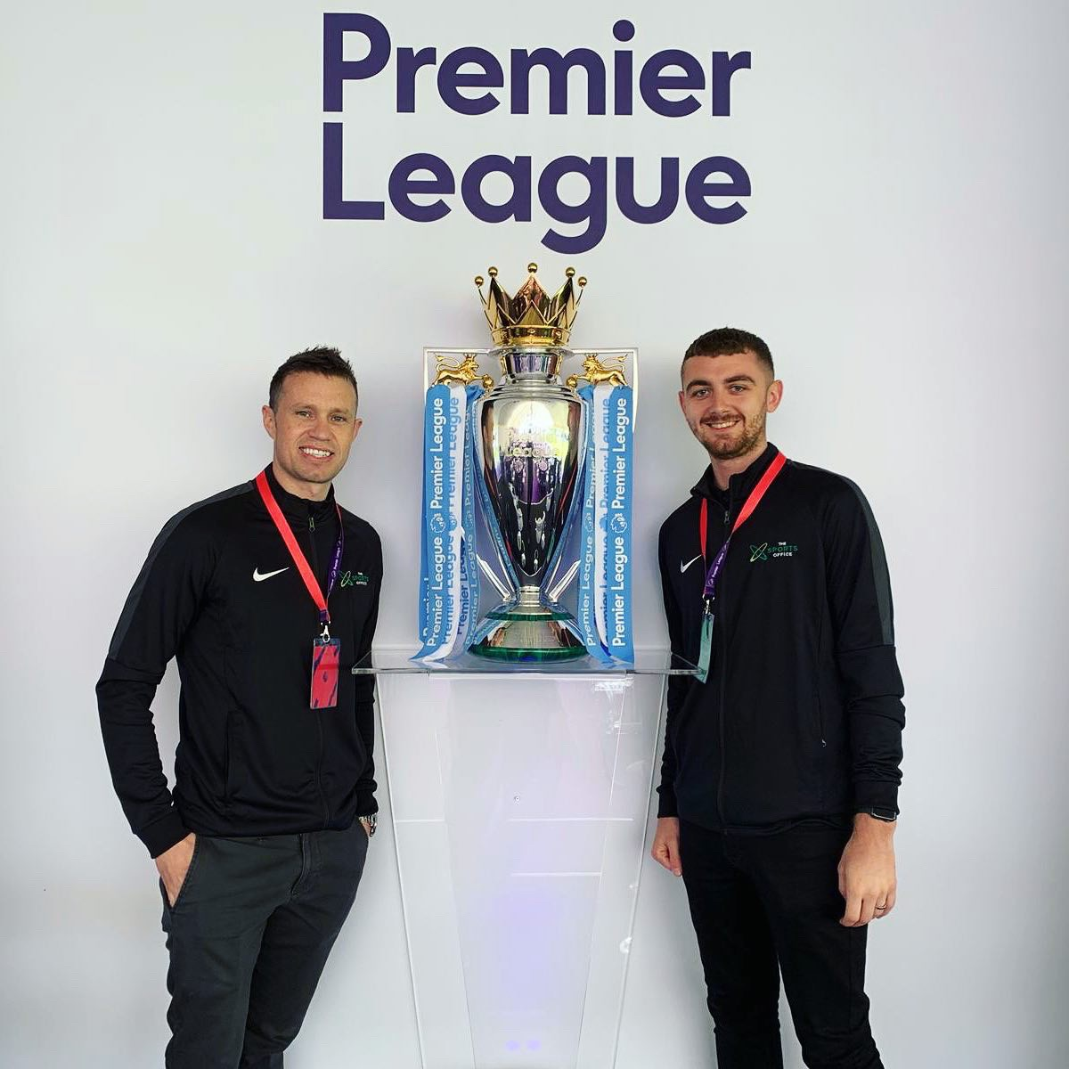 Client Manager's Carl & Dan at Premier League Youth Development Conference