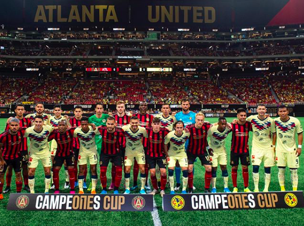 Atlanta United and Club America in Campeones Cup