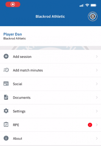 e Sports Office new self-reporting feature enables elite sports organisations to track and monitor player workload, in training activities and matches that take place away from the club environment.
